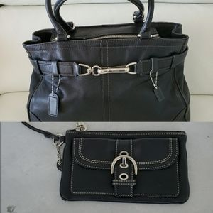 COACH Bundle Deal! BIG Tote + Detachable Wristlet